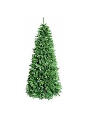 Albero di Natale base stretta artificiale realistico molto folto verde Royal Slim Xone