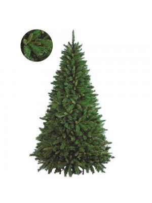 Albero di Natale artificiale realistico molto folto verde Flora NewTiffany New Tiffany