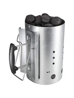 Ciminiera d'accensione Accendi Fuoco Veloce per Carbonella Barbecue