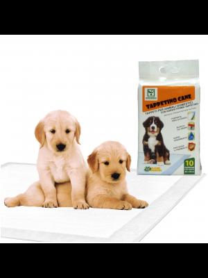 Tappetini Igienici per Cani Animali domestici SUPER Assorbenti Antiodore Adesivi 60X90 (100 Traversine)
