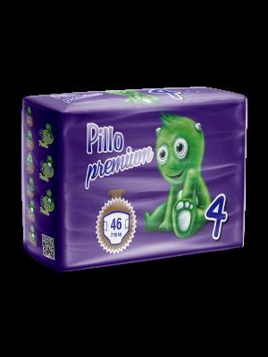 Pannolini Bimbo Pillo Premium Maxi, Taglia 4 (7-18 Kg)