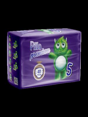 Pannolini Bimbo Pillo Premium Junior, Taglia 5 (11-25 Kg)
