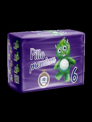 Pannolini Bimbo Pillo Premium XL, Taglia 6 (16-30 Kg)