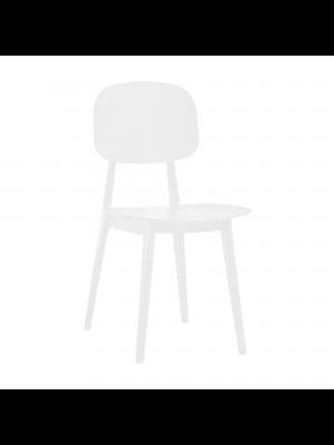 sedia firenze nero bianco