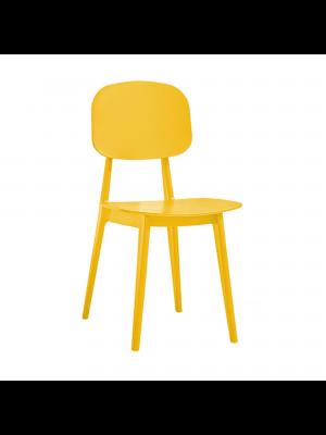 sedia firenze nero giallo