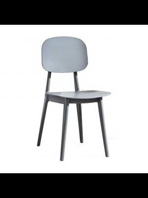 sedia firenze nero grigio