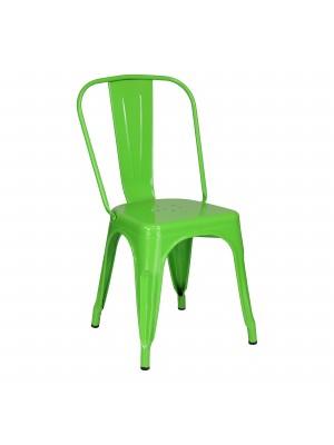 Prospettiva Sedia in metallo industry stile design industriale Verde Tolix Totò Piccinni