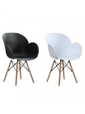 Sedia di Design Tulipano Moderna