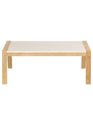 Tavolino SCIROCCO Struttura NATURALE in Legno massello di Faggio (Naturale, Tavolino)