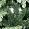 Rametti e rami in PE real touch di un albero di natale folto verde Kennedy Xone