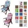 Copertina di una sedia sdraio reclinabile e richiudibile disponibile in varie colorazioni e motivi in tessuto Campania Amalfi Totò Piccinni