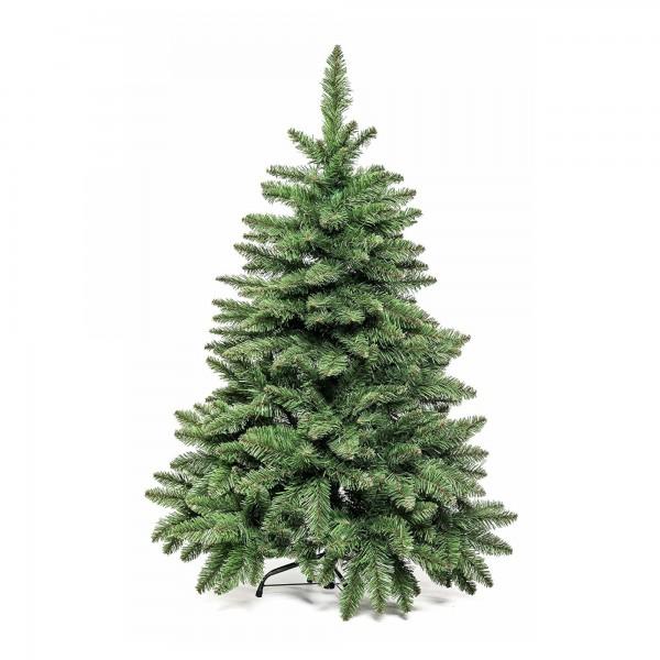 Alberetto Albero di Natale basso pino realistico folto 120 cm pvc e pp pinetto Timmy Xone