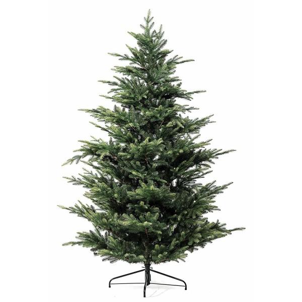 Albero di Natale in PP PE real touch realistico verde foltissimo Francoforte xOne