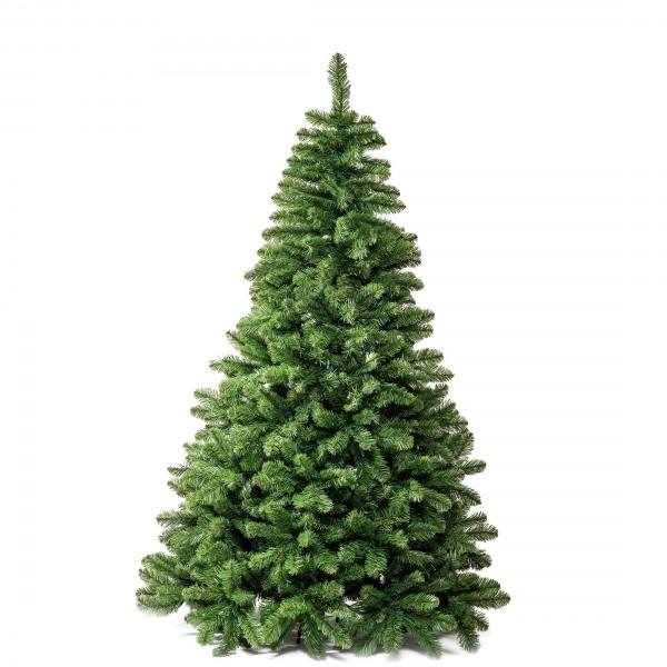 Albero di Natale artificiale realistico molto folto verde Roccaraso Totò Piccinni