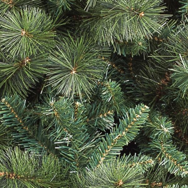 Ramo e foglie verdi in pp e pvc di un albero artificiale di Natale foltissimmo Milton Xone