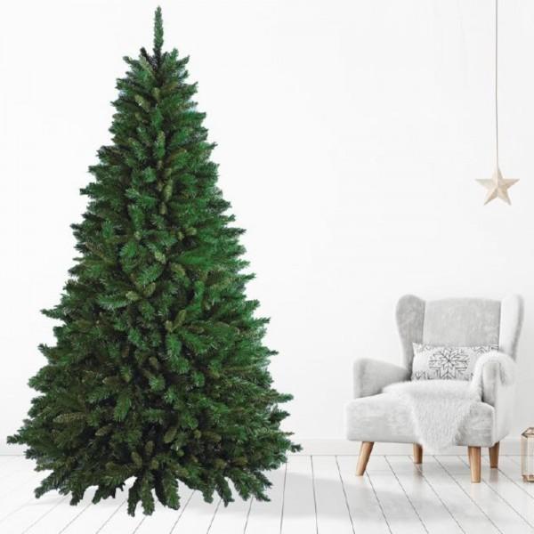 Idea Ambientata di un albero di natale foltissimo verde Flora NewTiffany New Tiffany