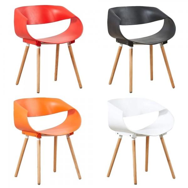 Sedia di Design Moderna in Polipropilene