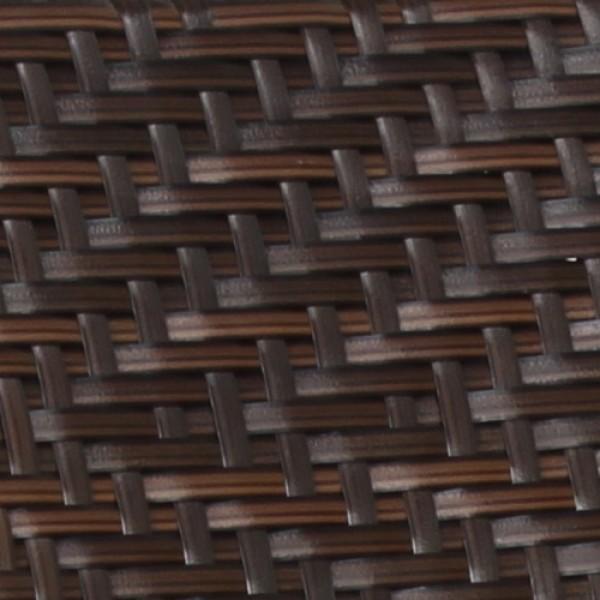 Struttura in polyrattan intrecciata a mano resistente alle intemperie da estero giardino